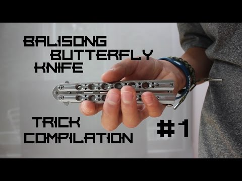 Balisong/Butterfly Knife Trick Compilation #1