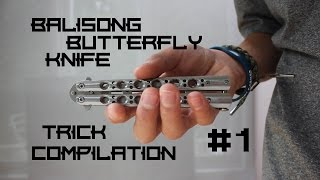 Balisong/Butterfly Knife Trick Compilation #1(This is a video of some of the tricks that I know with the balisong/butterfly knife as of September 13th, 2015. I also apologize for the text. You may need to pause ..., 2015-09-14T00:36:14.000Z)