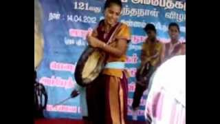 ambedkar birthday celebrations on 14th april 2012 dappu dance