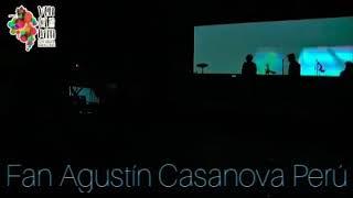 Show de Agustín Casanova en santa Cruz (chile)