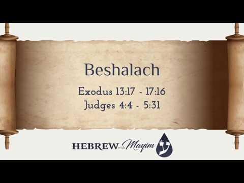 16 Beshalach, Aliyah 1 - Learn Biblical Hebrew