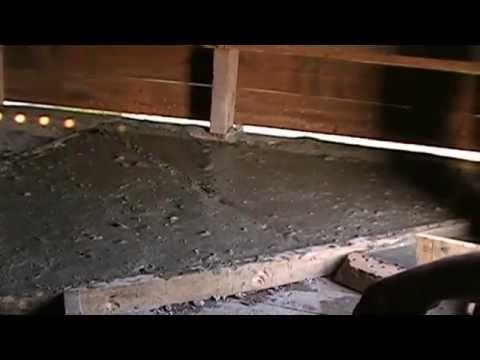 Потолок бани из газобетона