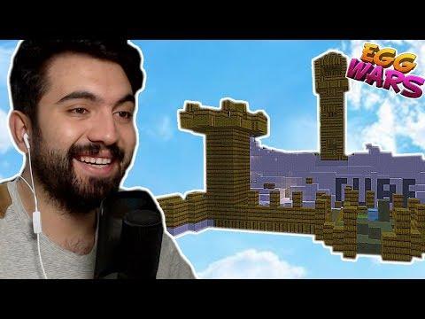 SAMANDAN KALE YAPTIK !!! | Minecraft: EGG WARS