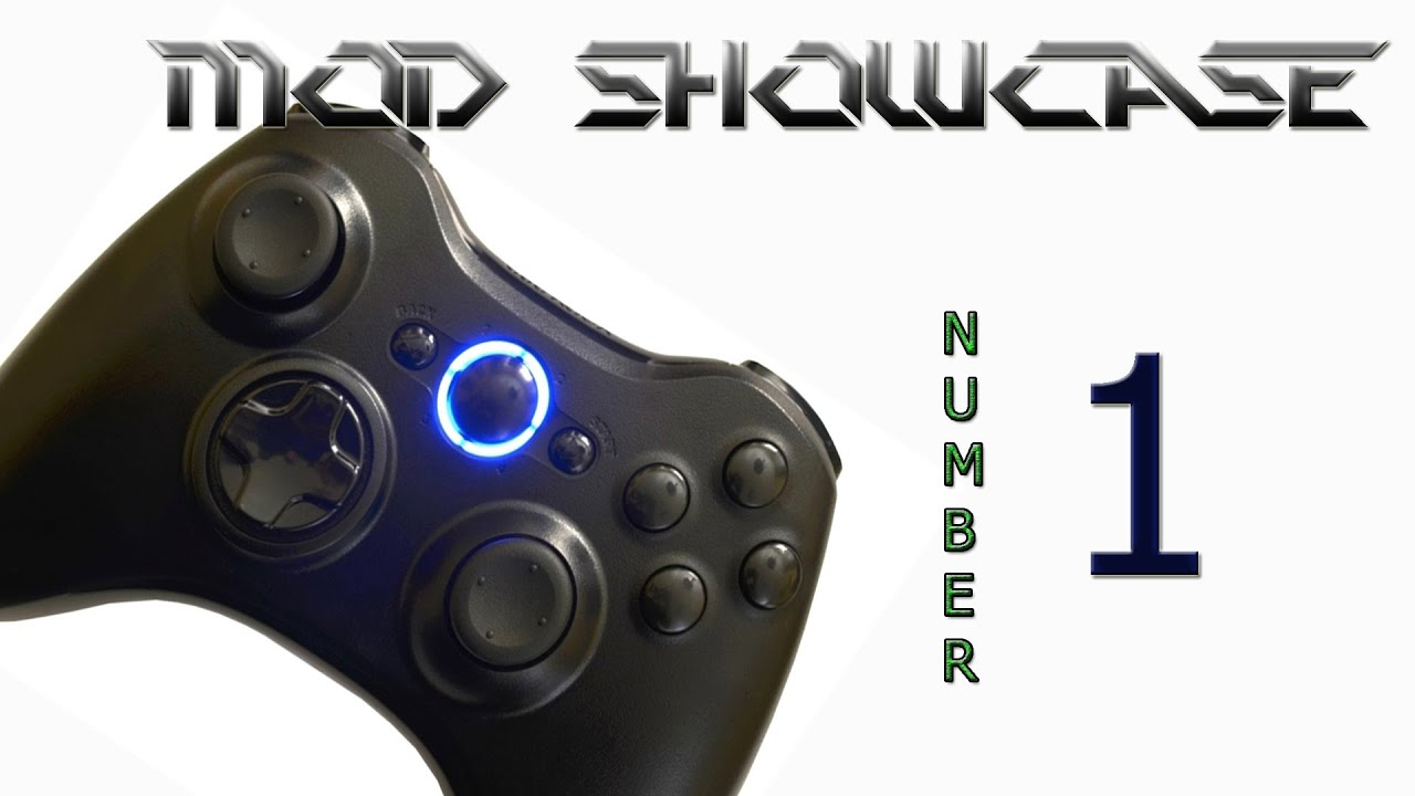 17 Mode Modded Xbox 360 Controller Mod Showcase #1 (part 1 of 2 ...