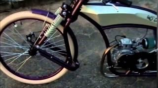 Bicicleta motorizada 4 tempos WS Cruiser