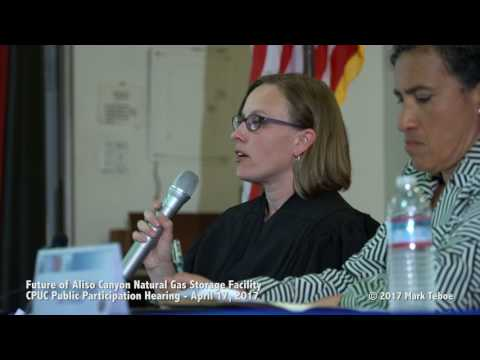 Porter Ranch Gas Leak Hearing 4-17-17  (Pt  1 of 5)