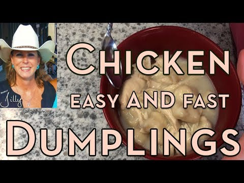 How to make easy chicken and dumplings from scratch