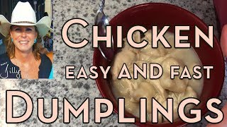 Easy Chicken and Dumplings with Biscuits - Simple Recipe for Beginners to Learn Cooking