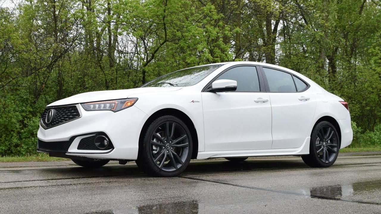 2018 Acura TLX A-Spec SH-AWD V6 - Performance Drive Review ...