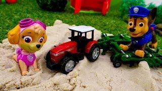Видео для детей. Веселая школа. Профессия фермер. thumbnail