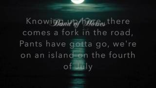 General Specific- Band of Horses- Lyrics Video