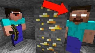 НУБ ЗАТРОЛЛЕН НЕВИДИМЫМ ПРО ХИРОБРИН В МАЙНКРАФТ 2 ! ТРОЛЛИНГ ПРО НЕВИДИМКОЙ В МАЙН! Minecraft Видео