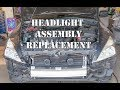 2003-2007 Honda Accord Headlight assembly replacement