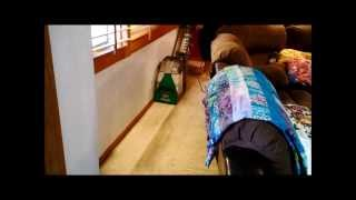 bissell big green deep cleaning machine gets tested again part 1