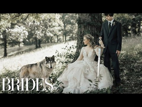 Game of Thrones Inspired Fantasy Wedding Is Out of This World | BRIDES