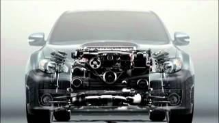 Технологии Субару: оппозитный двигатель.
