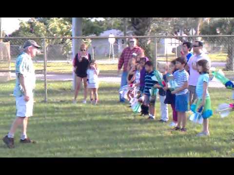 Rocket launch at S D Spady Elementary School