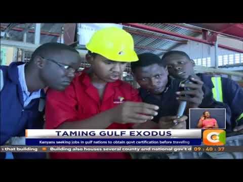 Kenyans seeking jobs in Middle East to obtain gov't certification
