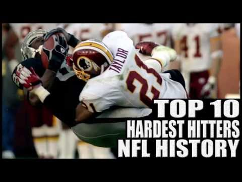 Top 10 Hardest Hitters in NFL History