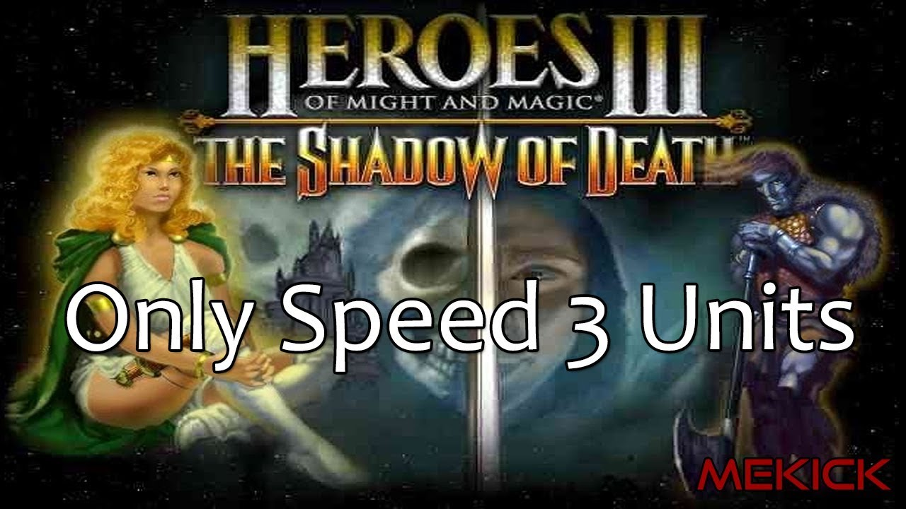 Heroes of Might and Magic III: Speed 3 Units Only 1v7 FFA (200%)