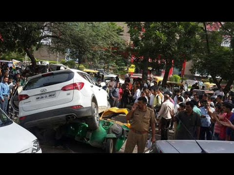 Firing on MG road in Gurgaon, men open fire at an SUV