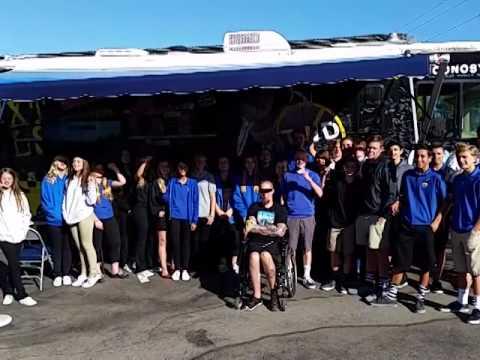 2014 National Teen Driver Safety Week at Saddleback Valley Christian School