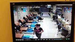 Mississauga Nail Salon Theft