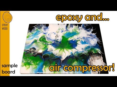 |3| DIY Epoxy Resin Pour and Air Compressor!