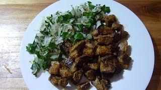 Leber auf Türkische Art-  (Osmanische Küche) Arnavut cigeri