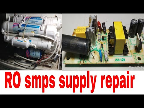 Water filter RO smps supply repair basic