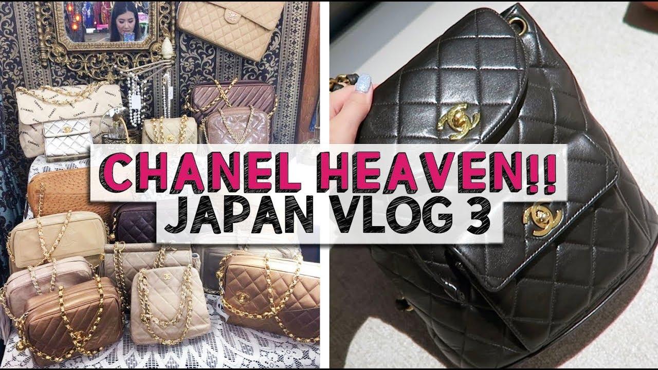 bb7285680e CHANEL HEAVEN! | Japan Vlog 3 - YouTube