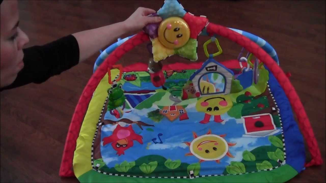 Baby Einstein Activity Arch And Play Mat Review Youtube