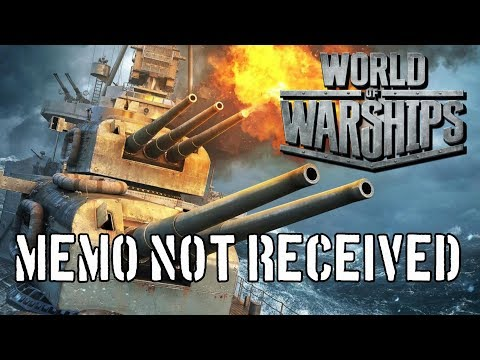 World of Warships - Memo Not Received