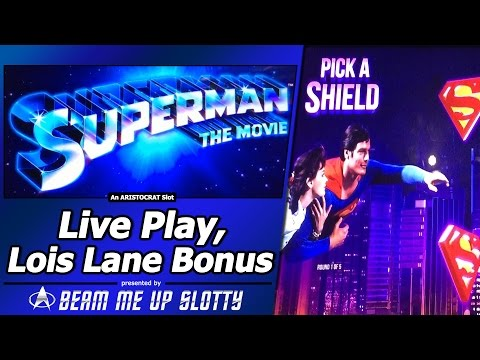 Superman The Movie Slot Machine - Play for Free Now