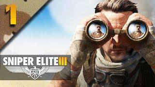 mr odd lets play sniper elite 3 blind part 1 siege of tobruk sniper elite v3
