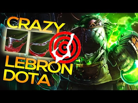 LeBronDota Crazy Hook Accuracy | Roaming Pudge Dota 2