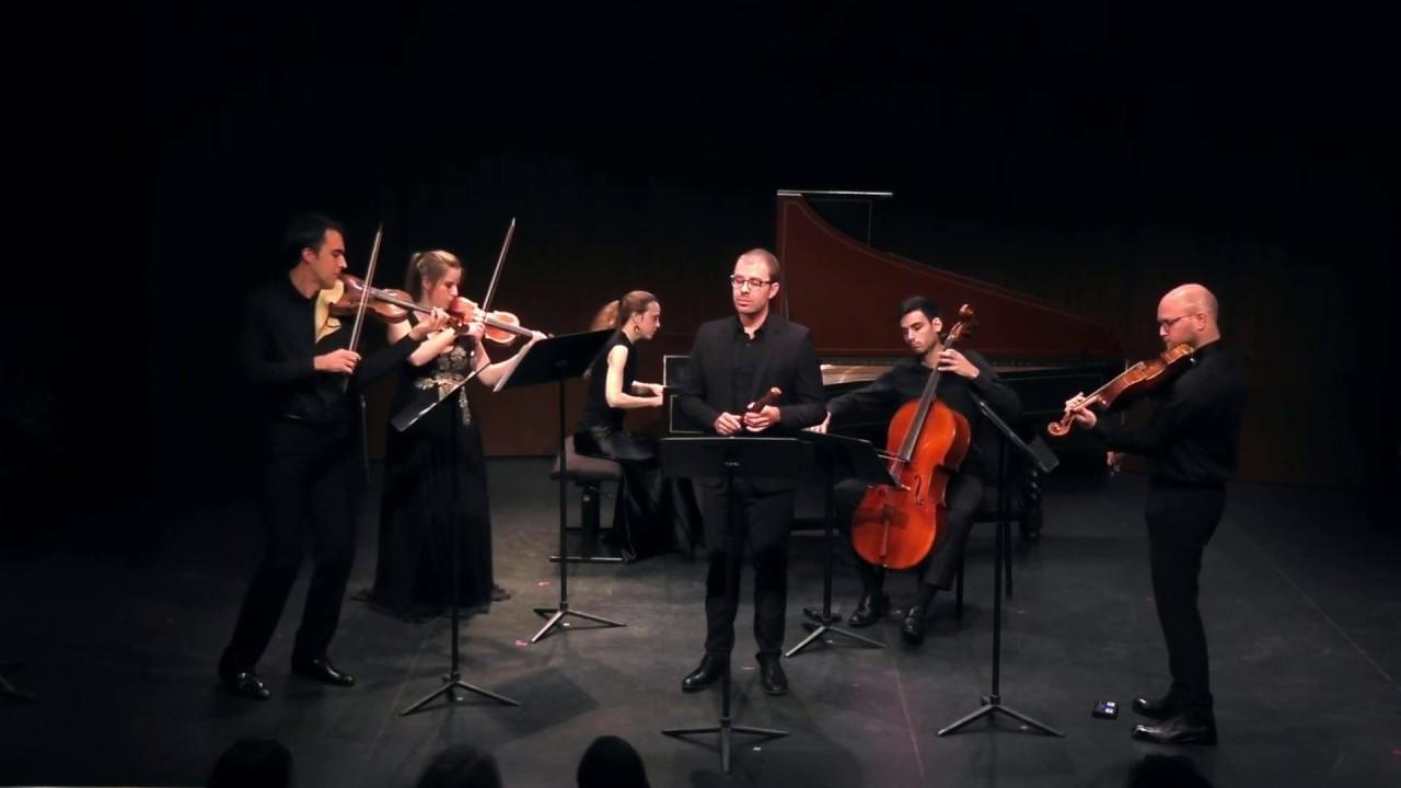 Vincent Lauzer & Quatuor Cobalt - Telemann: Concerto 51:C1 - 3.Andante