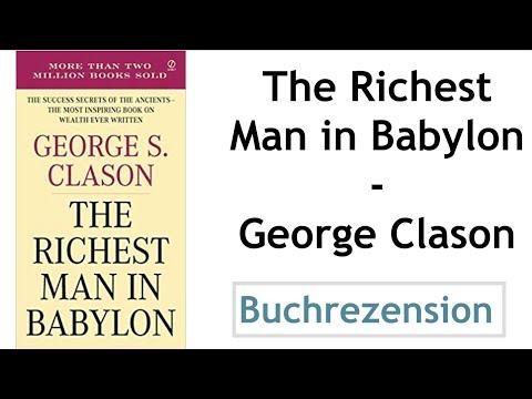 The Richest Man in Babylon YouTube Hörbuch Trailer auf Deutsch