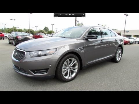 2013 Ford Taurus SHO Start Up, Exhaust, and In Depth Review