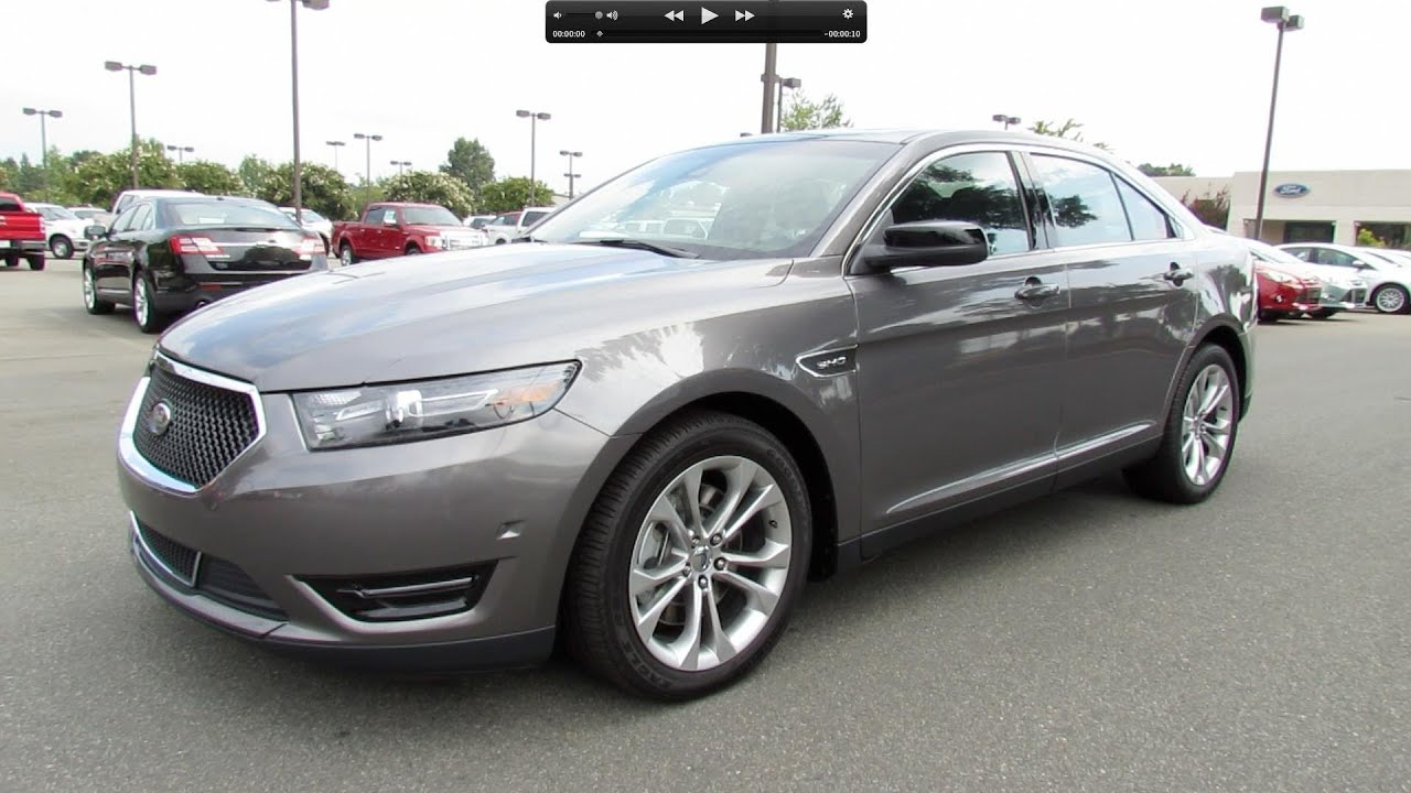 2013 Ford Taurus SHO Start Up, Exhaust, and In Depth ...
