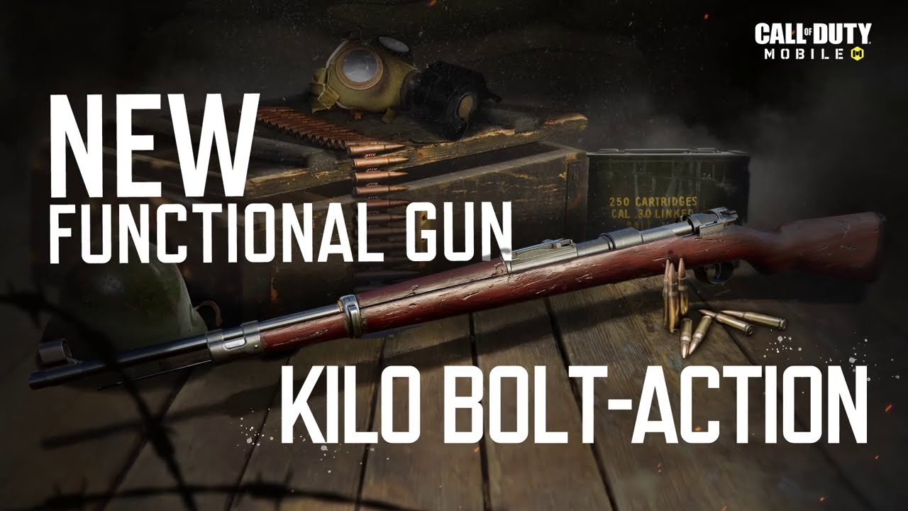 Call of Duty®: Mobile - Kilo Bolt-Action Marksmen Rifle