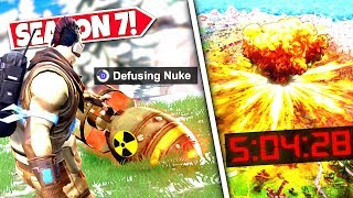 *NEW* NUCLEAR MISSILE *FOUND* AFTER EPIC GAMES RELEASES SECRET WARNING! SEASON 7 UPDATE!: BR