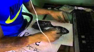 Speed Drawing - Lemmy Kilmister by Ralvan Albuquerque
