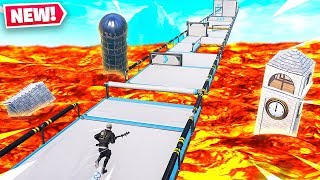 NEW LAVA LAND! DONT TOUCH THE LAVA Fortnite Creative!