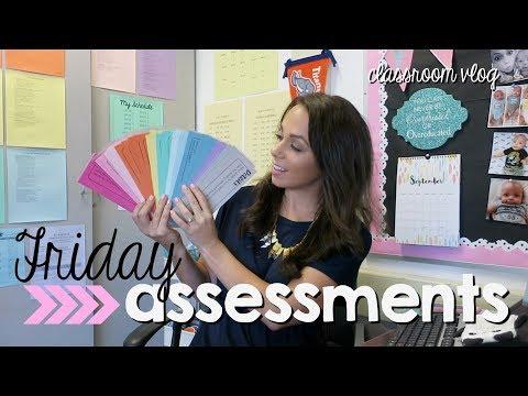 classroom vlog   facetime + friday assessments