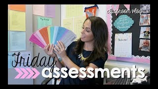 classroom vlog | facetime + friday assessments
