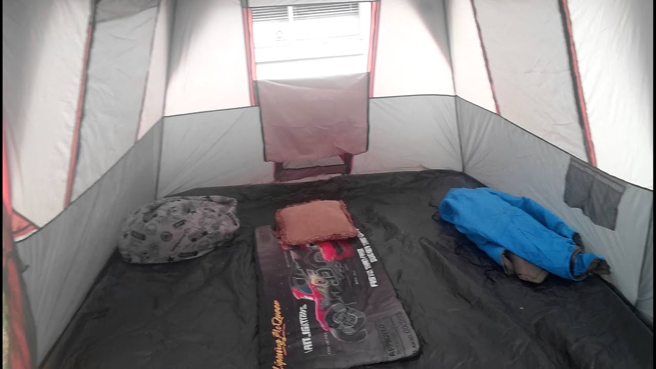 & 12 person Ozark instant tent review - YouTube