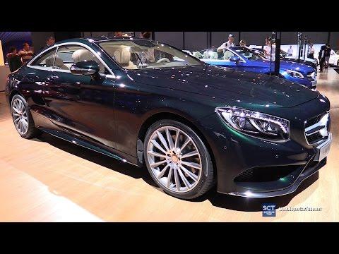 2016 Mercedes-Benz S Class S400 Coupe - Exterior&Interior Walkaround - 2016 Moscow Automobile Salon
