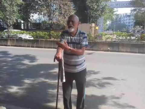 Old age 85 years Daily morning  walk,Pune,M.S.,India