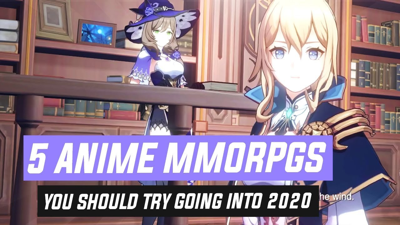 Top Pc Mmorpgs Christmas 2020 5 Anime MMORPGs You Should Try Going Into 2020!   YouTube